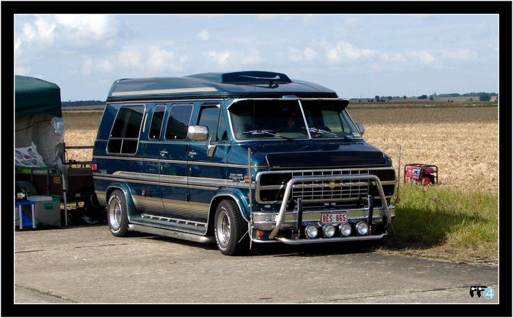 Hot Rod Chevy Astro Van   CHEVY VAN