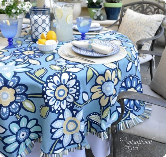 25 Best Ideas About Outdoor Tablecloth On Pinterest
