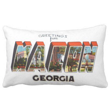 Macon georgia lumbar pillow macon georgia georgia and pillows macon georgia lumbar pillow vintage gifts retro ideas cyo m4hsunfo