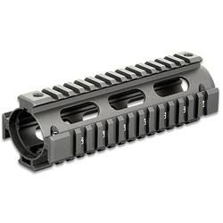 AR-15 M4 Carbine Quad Rail System UTG PRO Black Replaces Original Handguards 6.7 Easy Installation