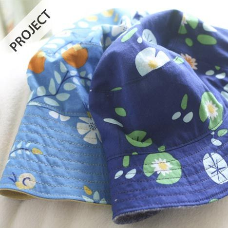 Reversible Bucket Hat - Free Pattern