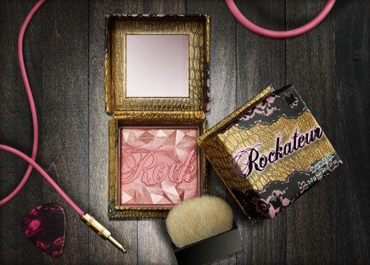 Benefit Cosmetics - rockateur, famously provocative cheek powder #benefitgals #beauty