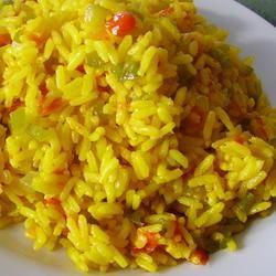 Cheesy Chicken and Yellow Rice Allrecipes.com #Goya