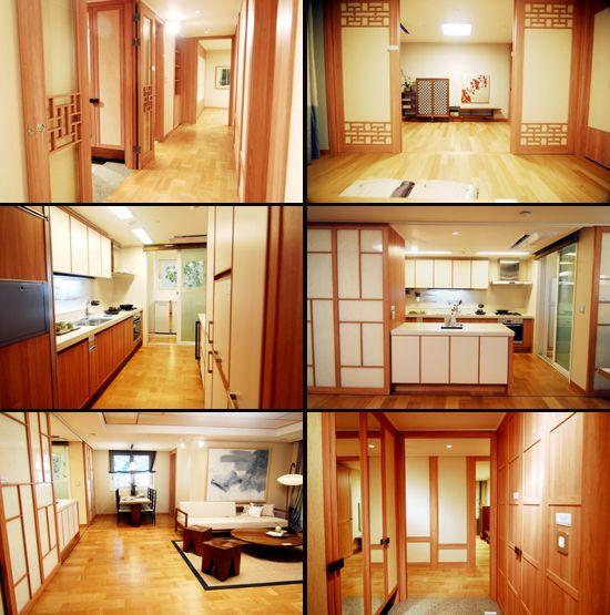 traditional Korean style apartment design