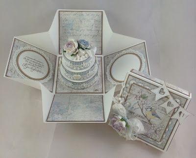 DIY Wedding box/Bryllupseske Kreativ Scrapping: http://cam-camsscrappehjorne.blogspot.no/2013/06/kreativ-scrapping-har-bryllupstid-pa.html