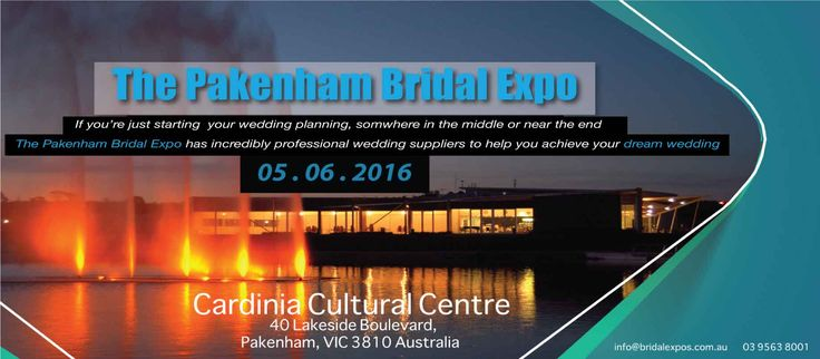 Be sure to attend the #PakenhamBridalExpo on the 5th of June 2016! There will be a beautiful display of bridal cars for you to view and inspect on the day of the expo! Get some great advice from Melbourne's leading wedding specialists, all under one roof to help you plan your dream wedding!