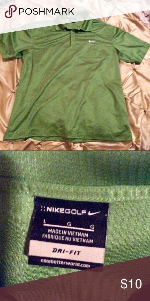 Men's Nike polo shirt Never been Worn men's green polo shirt Nike Shirts Polos