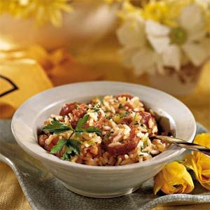 In honor of Mardi Gras (not sure why because I don't actually celebrate Mardi Gras) ... Creole Jambalaya