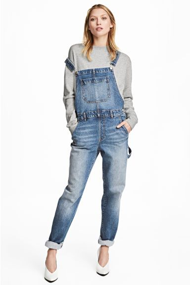 Dungarees - Denim blue - Ladies | H&M GB