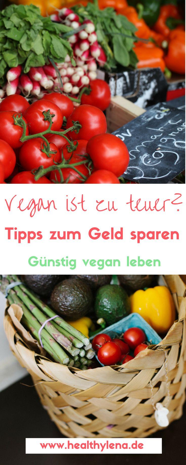 Vegan ist zu teuer? Von wegen! Die vegane Ernährung kann auch sehr günstig gestaltet werden. Hier erfährst du Tipps zum Geld sparen, um gesund & günstig vegan zu leben.