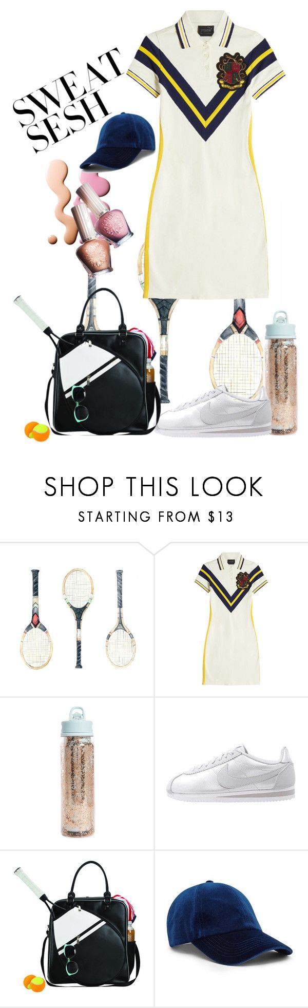 """Tennis"" by ingfreego ❤ liked on Polyvore featuring Paul & Joe, Puma, ban.do, Goodhope Bags and Forever 21"