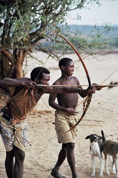 HADZABE TRIBE: THE LAST ARCHERS OF AFRICA The Hadzabe are the last functioning hunter-gatherers in Africa. There are only just under 1000 Hadzabe left. Most of them live around Lake Eyasi, much as their ancestors have for thousands or even tens of thousands of years. Scientist have agreed that an ancient homo sapien may have evolved from these people (watch this video;http://www.youtube.com/watch?v=Geh1mdsFk2k&feature=player_embedded#!)