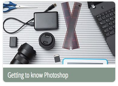 Bookmark e-Learning course: Getting to know Photoshop - bookmark.com