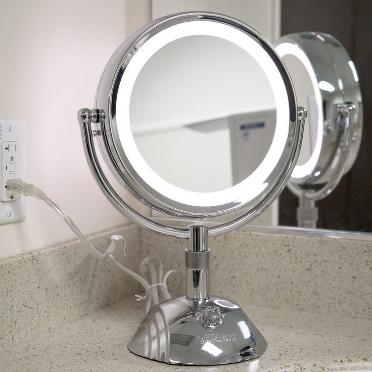 Conair Light Bulbs: Conair BE6SW Telescopic Makeup Mirror with Light,Lighting