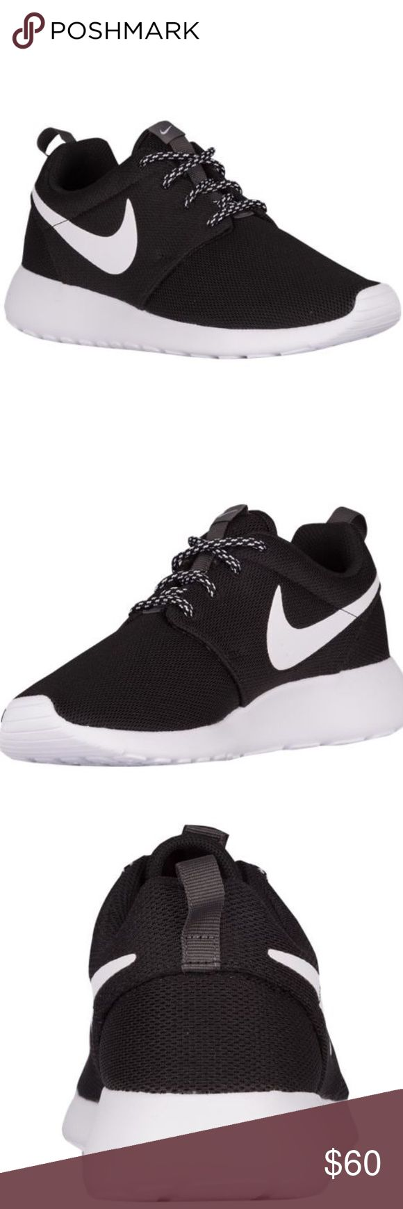 Mens Nike Roshe Black and white  Worn once  Very comfortable  Selling due to being a half size too big  Smoke free home Great condition Nike Shoes Athletic Shoes