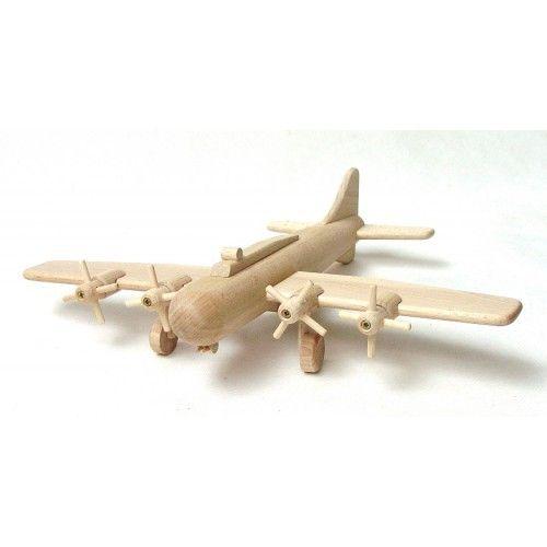 Bombardier B17 - Handmade Wooden Toy | Shop now at bdandmax.com