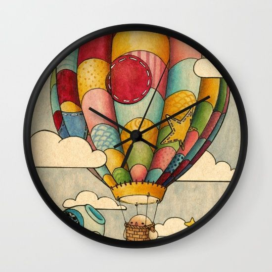 Sweet+Dreams+Wall+Clock+by+Felicia+Chiao+-+$30.00