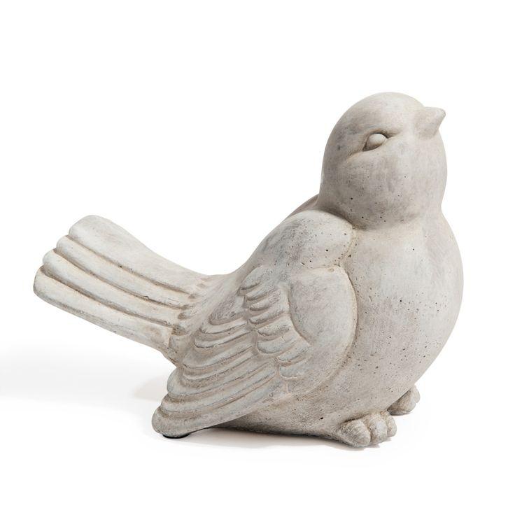 Oiseau Picorette gris