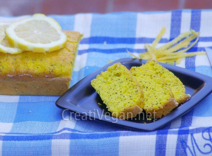 bizcocho de limón con semillas de amapola