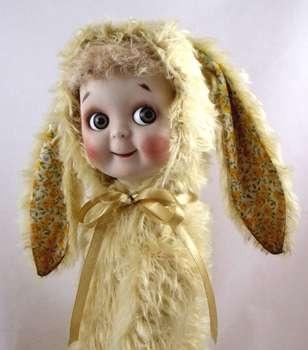 Lemony  Easter Bunny by Jo Bears