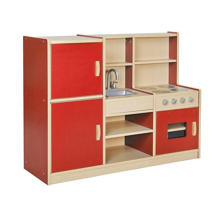 Red Play Kitchen Set best 25+ kids play kitchen set ideas on pinterest | baby kitchen