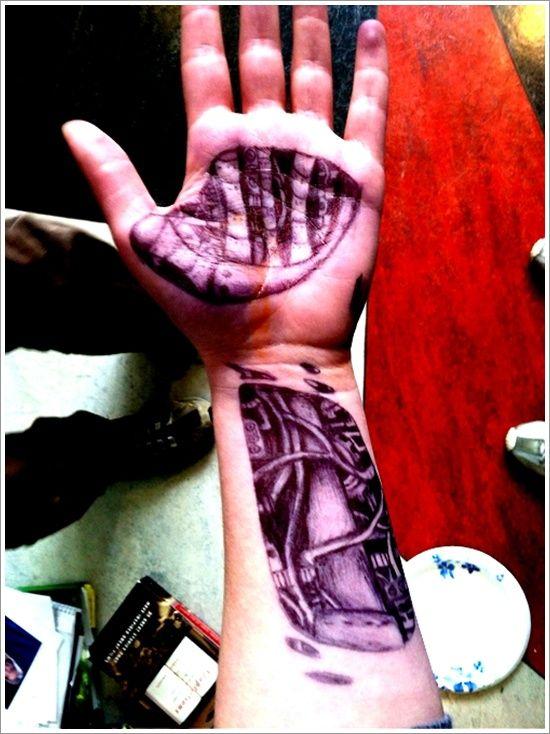 Biomechanical tattoo design (32)