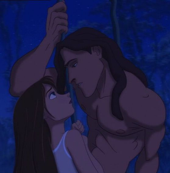 Day 15: Favorite Romantic Moment  Tarzan and Jane