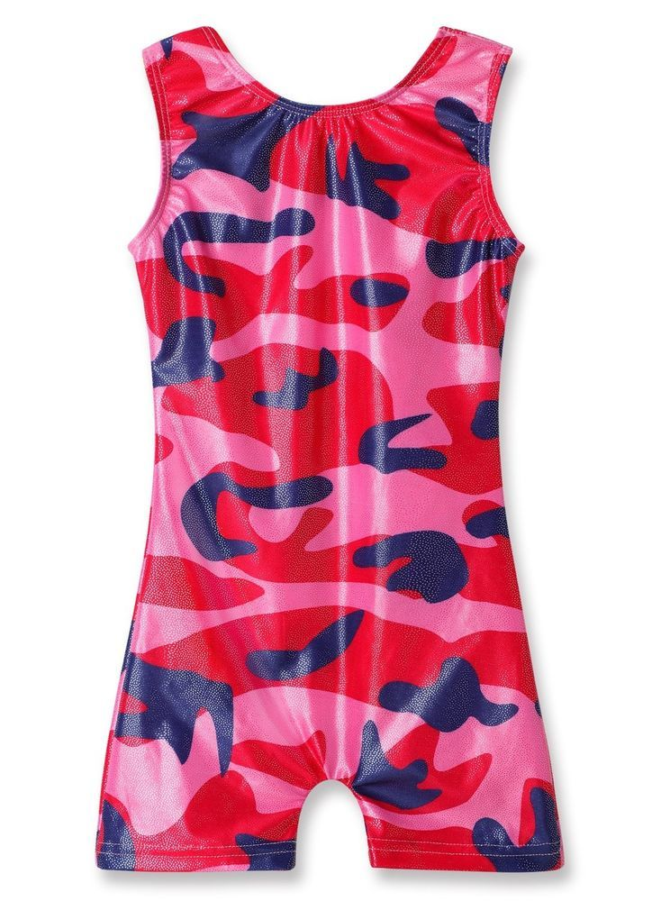 977676dfc2da Girls Gymnastics Leotards Biketard Fashion Star Shark Ballet Dance ...