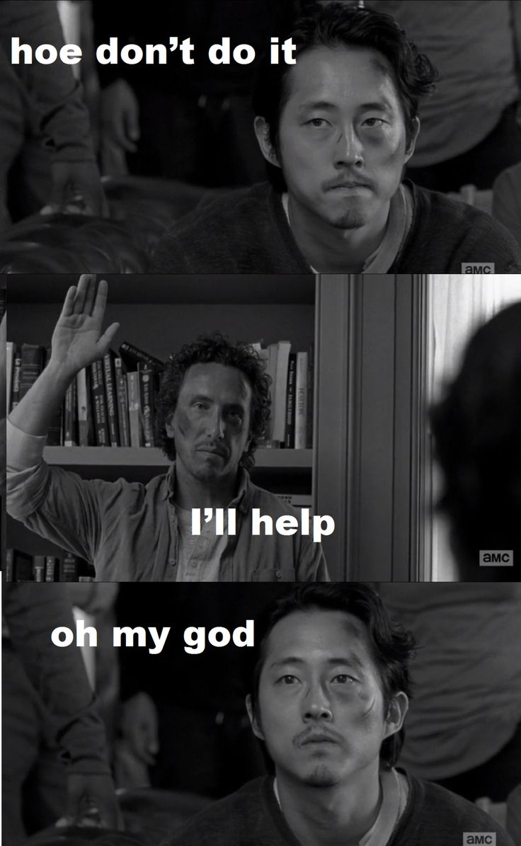 Hoe don't do it - Glenn & Nicholas - Fangirl - The Walking Dead