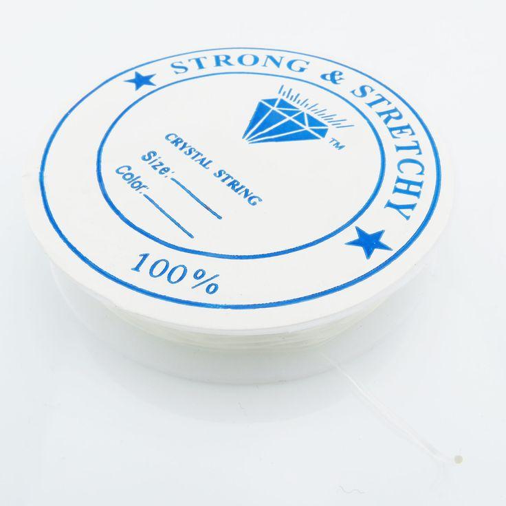 |6,5m Silikon Schnur 0,8mm (0,35€ pro m) Gummi elastic Rolle Band Faden | Draht und Band | günstig kaufen bei Bacabella.com Schmuckherstellung | Perlen, Schmuck und Schmuckzubehör zum Schmuck selber machen | Schmuck basteln DIY DoItYourself | ganz individuell und einfach