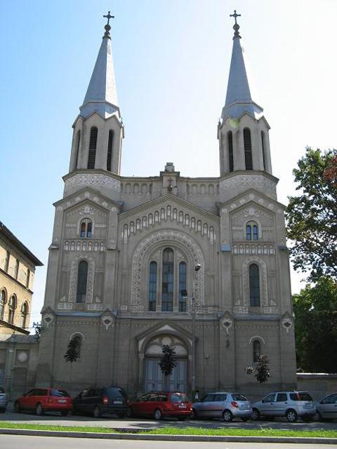 Biserica Romano-Catolica 'Notre Dame' din cartierul Josefin, Timisoara, Judet Timis, Romania