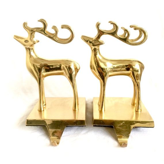 Best 25 mantle stocking holders ideas on pinterest for Brass stocking holders fireplace