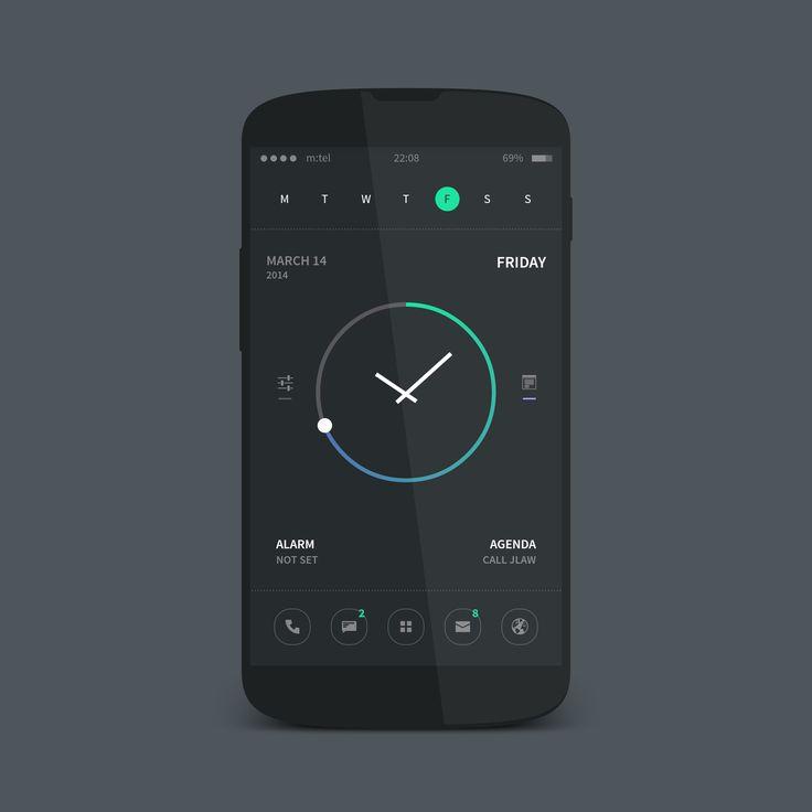 neon Android Homescreen by rabrot - MyColorscreen