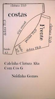 Neidinha Lingeries e Costuras em geral ( Moldes)