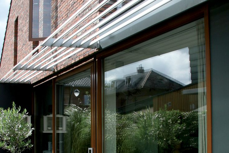 Horizontal Brise Soleil Sunclips Renson Sun Protection