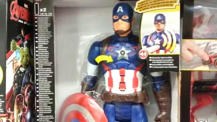 Avengers talking toys: Captain America, Iron Man and Others