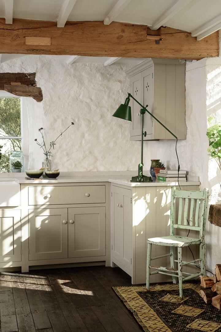 A beautiful corner of deVOL's Shaker showroom at Cotes Mill