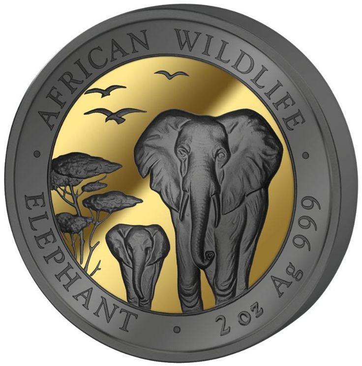 2015 African Wildlife Golden Enigma Silver 4 Coin Set – ArtInCoins