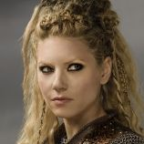 Lagertha Played by Katheryn Winnick Vikings. Lagertha is the wife of Ragnar Lothbrok. She is a strong shield-maiden and a force to be reckoned with. She fights in the shield-wall beside her husband and her Viking brothers. She is independent and strong-willed both in protecting her family and accompanying Ragnar on some of his dangerous and daring raids.