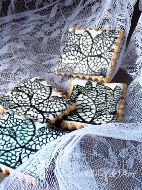 Δαντέλα από ζάχαρη / Sugar lace !