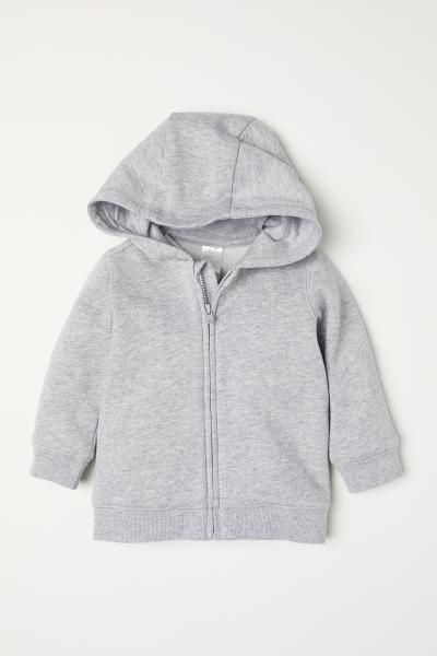41d263d691 H&M Hooded Jacket - Gray | clothes for luva ❤ | Cashmere hoodie ...