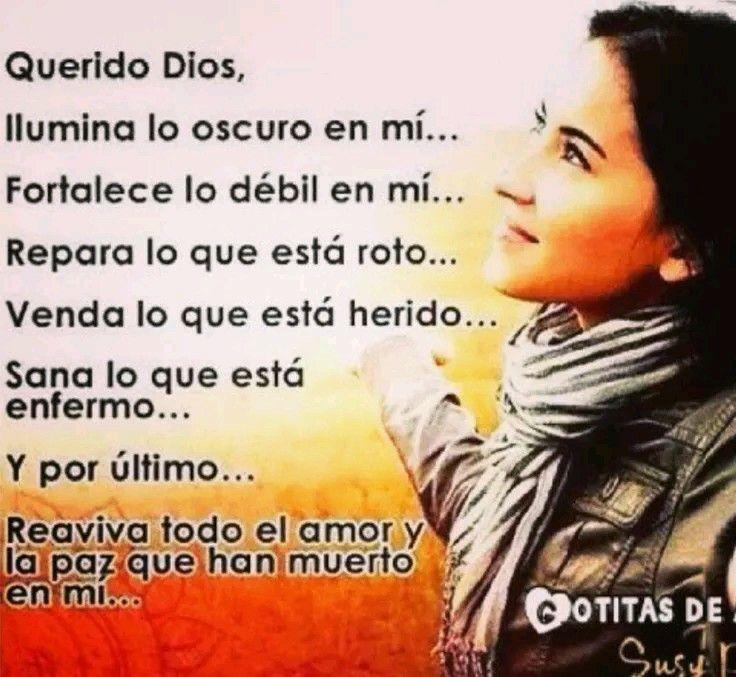 Dios gracias por estar siempre en mi corazón, fortaleciendo mi fe.