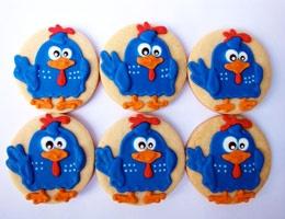 Cookie Galinha Pintadinha
