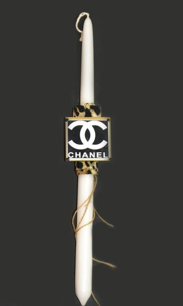 "easter candle ""channel"" by Lne' s  Artwork"