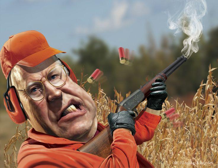 22 de marzo, no quiero decir que la mierda golpeó al fanático, porque eso no es lo suficientemente malo. Mala sangre; bromea con el guión de Dick Cheney que está construyendo; musa sobre el estado. [Risas] Aunque lo que es gracioso es que en medio de su explosión de escopetas de políticas.