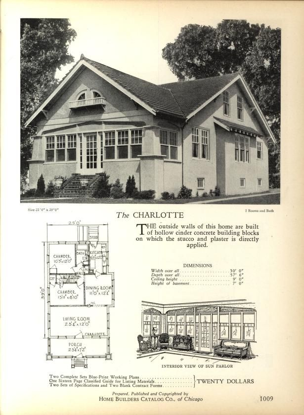 The 236 best images about house plans 1900 1930s on for 1900 bungalow house plans
