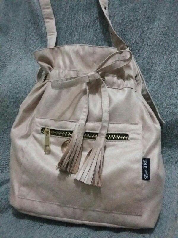 Handmade drawstring bag. #emogirlbag