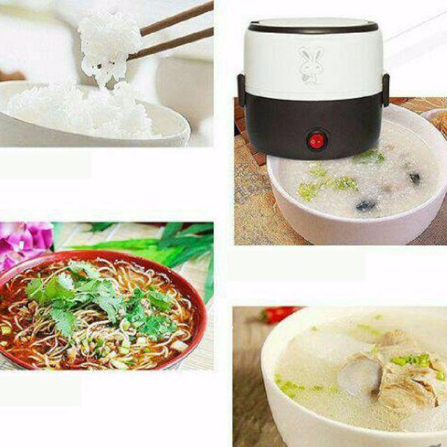 Mini Rice Cooker 2 Fungsi Model Terbaruuu. Bisa Dibuat Masak Nasi, Bubur dan Bagian Atas Bisa dibuat untuk Menghangatkan Makanan atau Bekal. Cocok utk dibawa kemana-mana atau DIFUNGSIKAN menjadi Kotak Makanan utk Bekal kita di kantor. Makanan Tetap Hangat, Enak dan yg Pasti TETAP BERSIH.Mini Rice Cooker sangat cocok untuk anak kost dan anak kantoran ataupun untuk berpergian .karna porsi nya yang cocok untuk 1 atau pun 2 orang . bisa sekalian untuk menghangatkan sayuran karna terdiri dari 2…