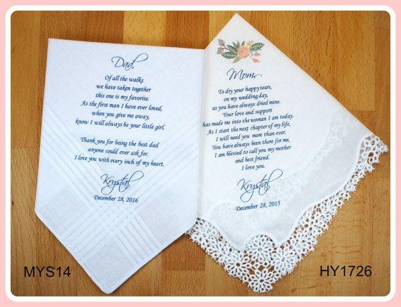Mother Of The Groom Gift: 25+ Best Wedding Handkerchief Ideas On Pinterest