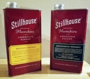 Stillhouse, which is distilled in Columbia, Tenn., launched in February and comes in original, apple crisp, peach tea, coconut, mint chip and red hot. #whiskey